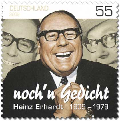 Heinz Erhardt Briefmarke