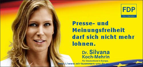 FDP zur Pressefreiheit