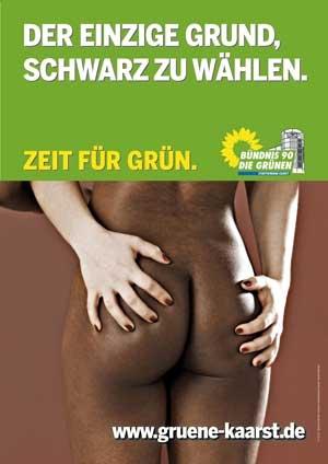 grüner Arsch
