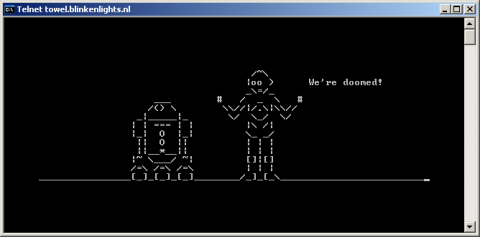 Star Wars per Telnet